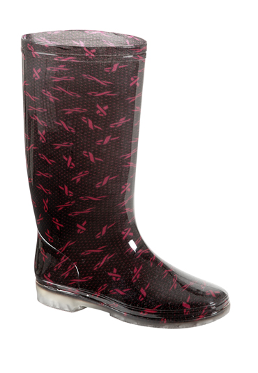 Peacocks CRUK Wellingtons